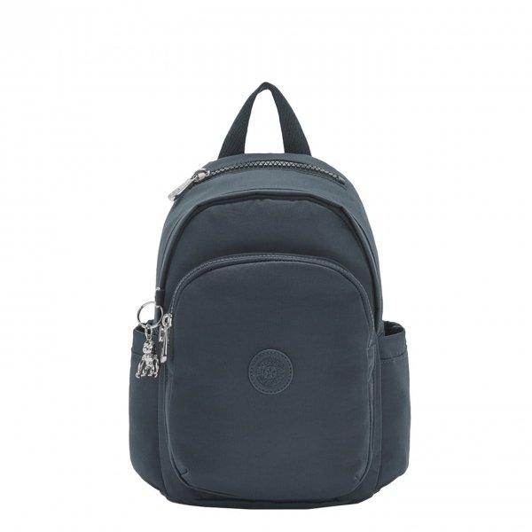 Kipling Delia Mini Rugzak rich blue backpack