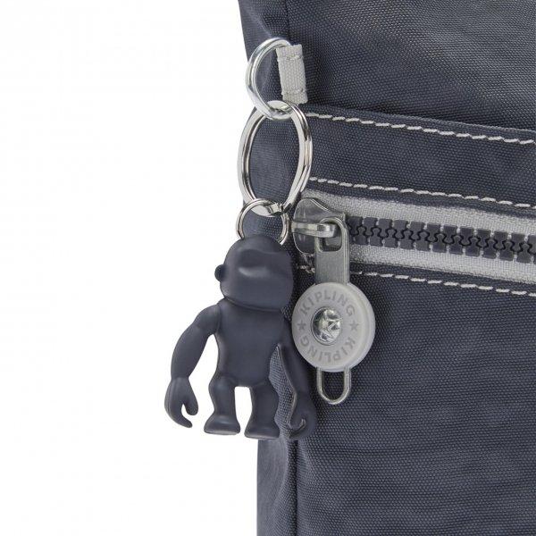 Kipling Izellah Schoudertas grey slate Damestas van Polyester