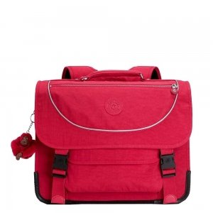 Kipling Preppy Schooltas Medium true pink