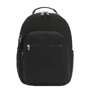 Kipling Seoul Rugzak black noir backpack