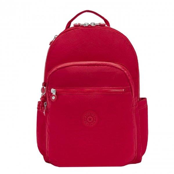 Kipling Seoul Rugzak red rouge backpack