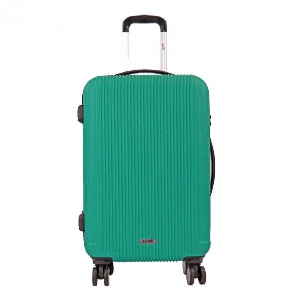 Line Newport 3 Delige Trolleyset jade Harde Koffer van ABS