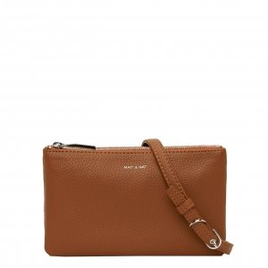 Matt & Nat Purity Crossbody Bag carotene II Damestas