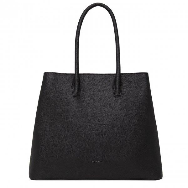 Matt & Nat Purity Satchel Bag black Damestas