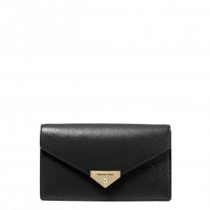 Michael Kors Grace Medium Envelope Clutch black Damestas