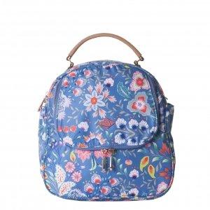 Oilily Aqua Sits Backpack-Shoulder Bag riviera Damestas