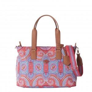 Oilily City Rose Paisley M Carry All hot coral Damestas