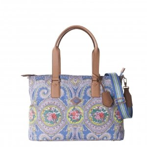 Oilily City Rose Paisley M Carry All riviera Damestas