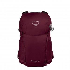 Osprey Skimmer 28 Women's Backpack plum red backpack