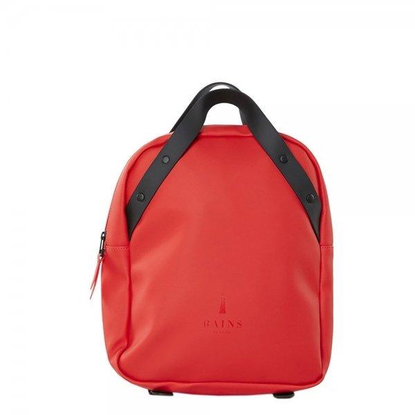 Rains Original Backpack Go red Damestas