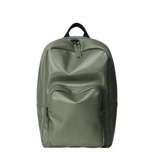 Rains Original Base Bag Mini shiny olive Laptoprugzak