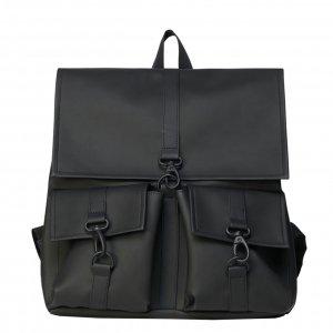 Rains Original MSN Cargo Bag black Laptoprugzak