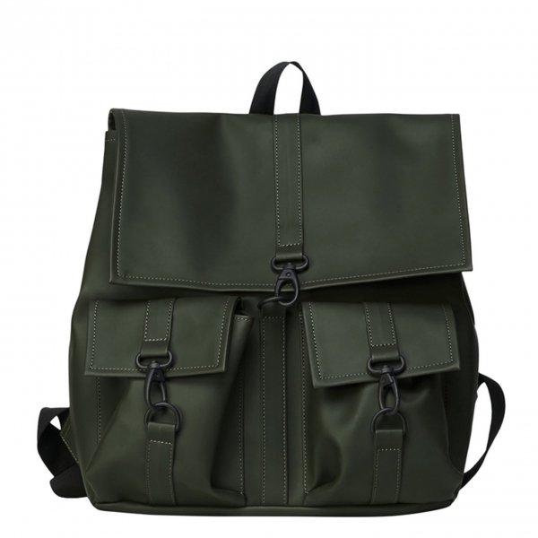 Rains Original MSN Cargo Bag green Laptoprugzak