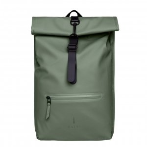 Rains Original Roll Top Backpackolive backpack