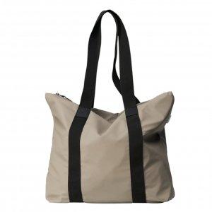 Rains Original Tote Bag Rush taupe Damestas