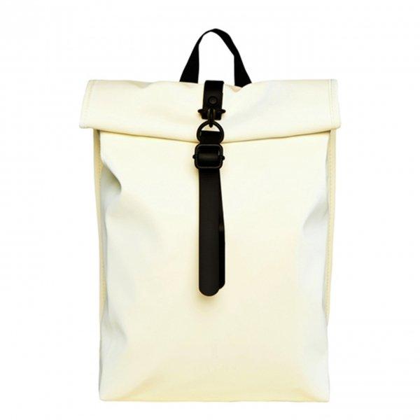 Rains Rolltop Mini pearl backpack