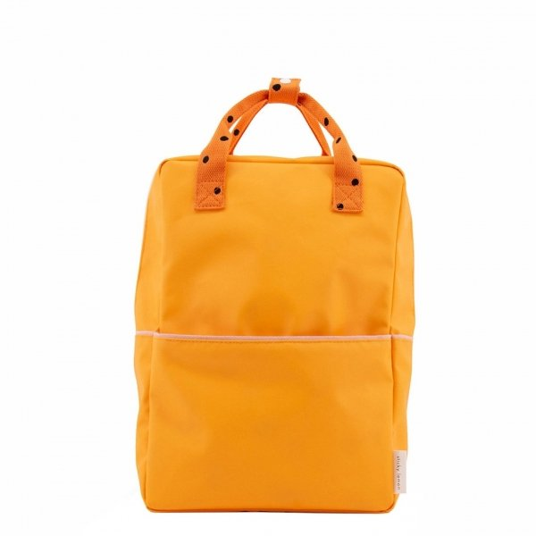 Sticky Lemon Freckles Backpack Large sunny yellow carrot orange candy pink Kindertas