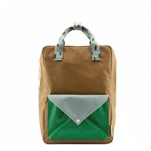 Sticky Lemon Sprinkles Envelope Backpack Small brassy green apple green steel blue Kindertas