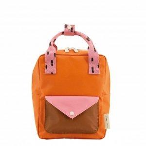 Sticky Lemon Sprinkles Envelope Backpack Small carrot orange bubbly pink syrup brown Kindertas