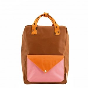 Sticky Lemon Sprinkles Envelope Backpack Small syrup brown bubbly pink carrot orange Kindertas