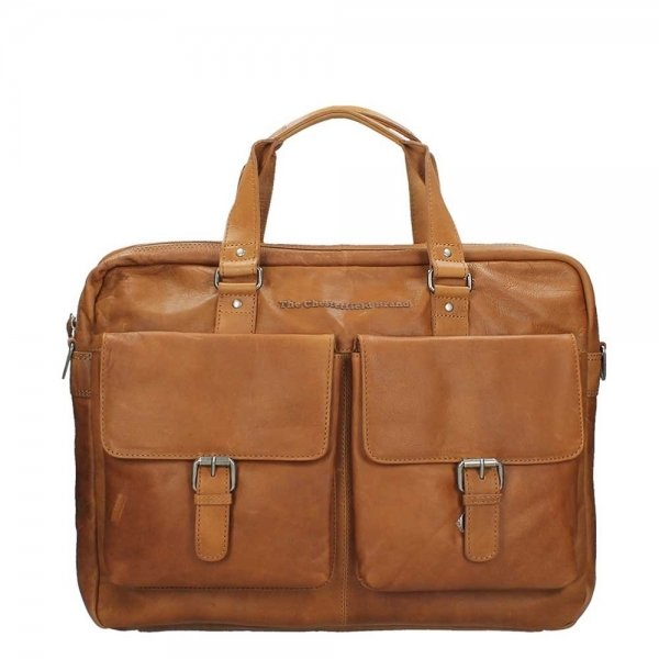 The Chesterfield Brand Dylan Laptopbag Large cognac
