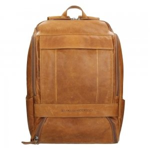 The Chesterfield Brand Rich Laptop Backpack cognac backpack