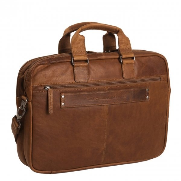 The Chesterfield Brand Samual Business Bag cognac