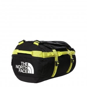 The North Face Gilman Duffel S tnf black/sulphur springgreen Weekendtas