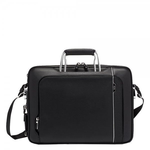 Tumi Arrivé Hannover Slim Briefcase Leather black