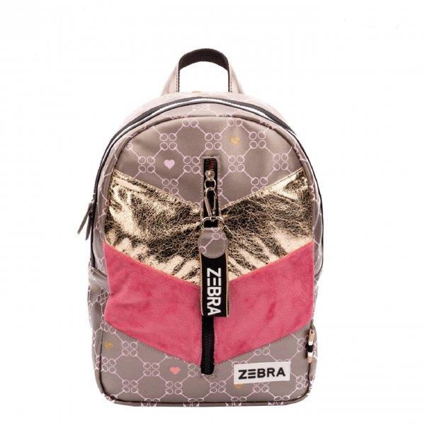 Zebra Trends Girls Rugzak M velvet horse bit