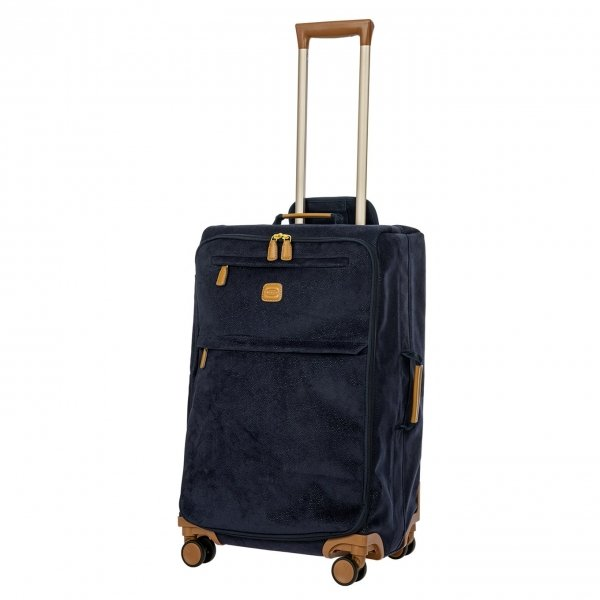 Bric's Life Trolley 65 blue Zachte koffer