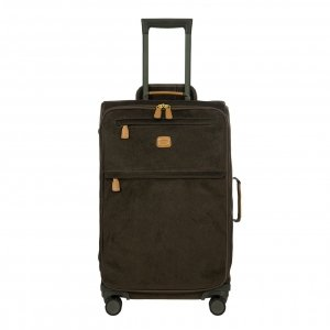 Bric's Life Trolley 65 olive II Zachte koffer