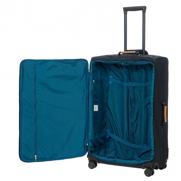 Bric's X-Travel Trolley 77 ocean blue III Zachte koffer