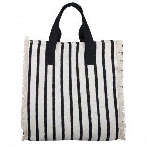 Bulaggi Beach Shopper black stripes Damestas