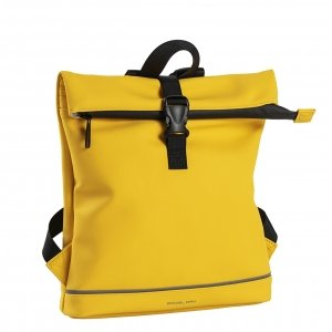 Daniel Ray Jefferson Waterafstotende Backpack S yellow Rugzak