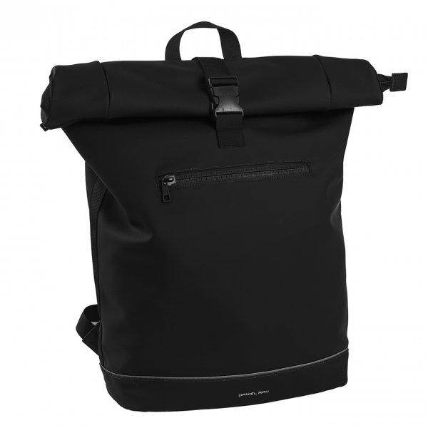 Daniel Ray Leek Waterafstotende Laptop Backpack 15.6'' L black Laptoprugzak