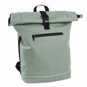 Daniel Ray Leek Waterafstotende Laptop Backpack 15.6'' L mint green Laptoprugzak