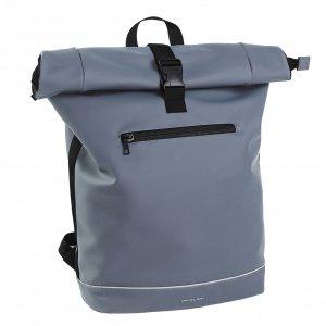 Daniel Ray Leek Waterafstotende Laptop Backpack 15.6'' L soft blue Laptoprugzak