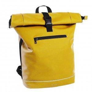 Daniel Ray Leek Waterafstotende Laptop Backpack 15.6'' L yellow Laptoprugzak