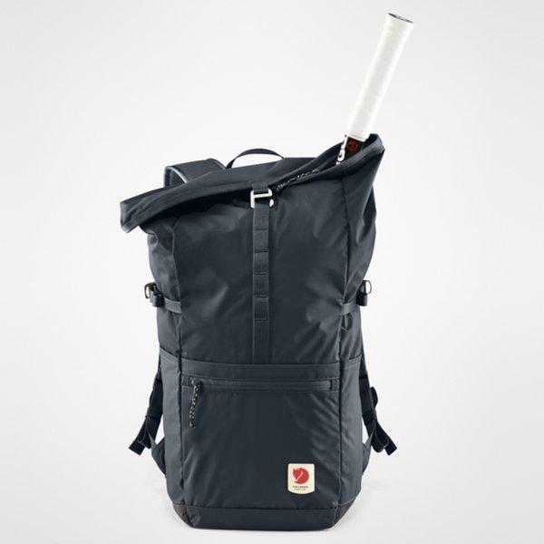 Fjallraven High Coast Foldsack 24 black backpack van Nylon