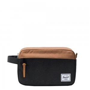 Herschel Supply Co. Chapter Toilettas black/saddle brown Laptoprugzak