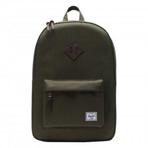 Herschel Supply Co. Heritage Rugzak ivy green Laptoprugzak