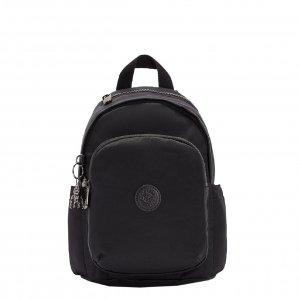 Kipling Delia Mini Rugzak rich black backpack