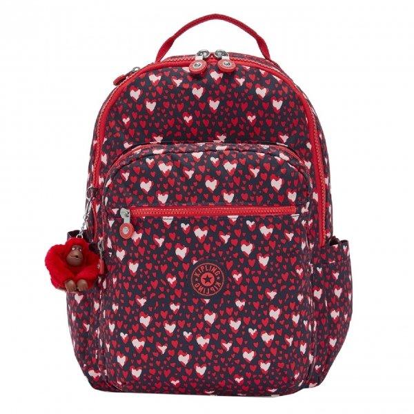 Kipling Seoul Rugzak heart festival backpack