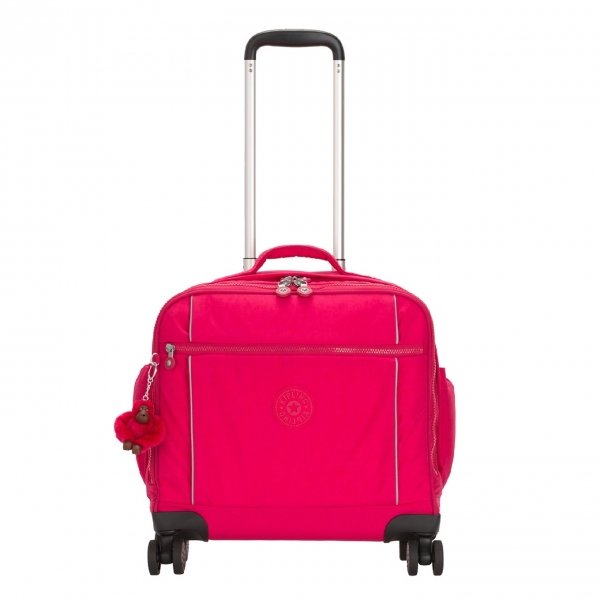 Kipling Storia Schooltas op Wielen true pink Kinderkoffer