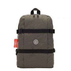 Kipling Tamiko Laptop Rugzak cool moss backpack
