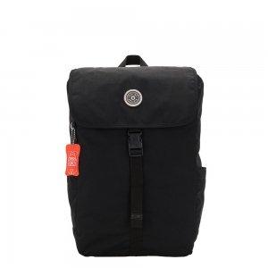 Kipling Winton Laptop Rugzak brave black backpack