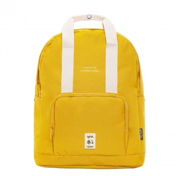 Lefrik Capsule Backpack mustard Laptoprugzak