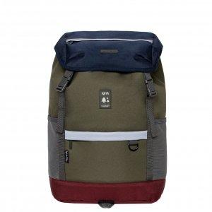 Lefrik Mountain Backpack multinavy Laptoprugzak
