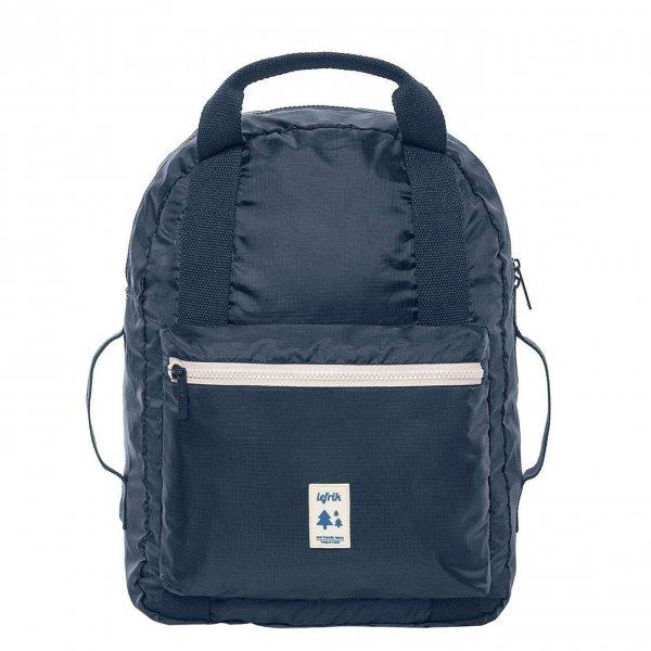 Lefrik Pocket Backpack navy/ecru Rugzak